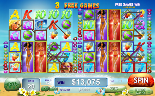 Play Sunset Beach Slots Online at Casino.com India