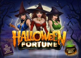"""Halloween Fortune"" Newtown Casino Slot Game"