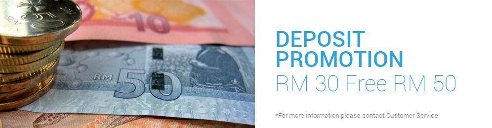Deposit Promotion ( 30 Free 50) by iBET Newtown Casino