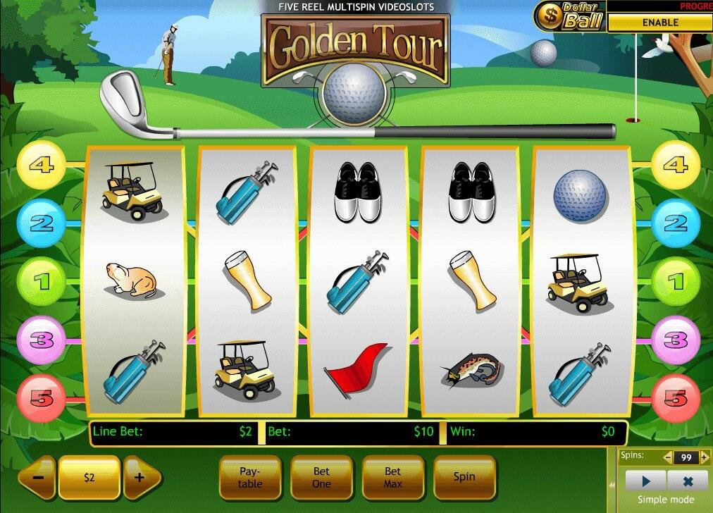 Free Slot Games Golden Tour
