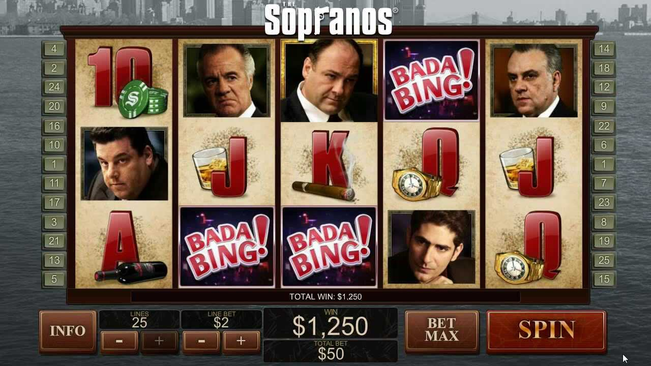 The Sopranos Slots - Free or Real Money Sopranos Casino Game