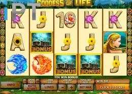 Goddess Of Life Newtown Casino Slo GamePicture1