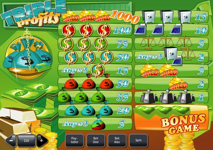 Play Triple Profits Slots Online at Casino.com Canada