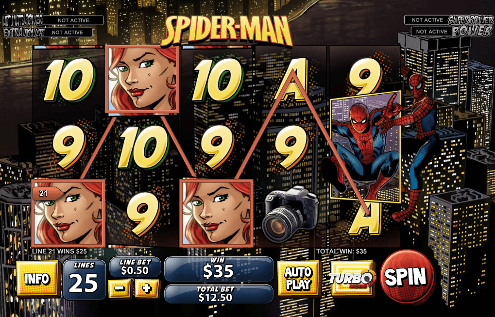 Spider Casino Game - Free to Play Online Casino Game