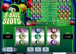 NTC33 Slot Pull On the Arm, not push on the stick in 8 Ball Slots