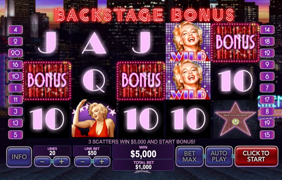 Play Marilyn Monroe Slots Online at Casino.com Canada