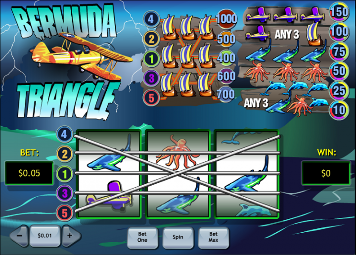 Play Bermuda Triangle Slots Online at Casino.com Canada