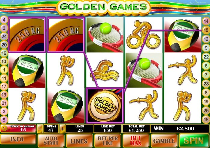 golden casino online game slots