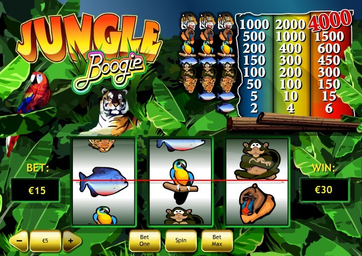 Play Jungle Boogie Slots Online at Casino.com NZ