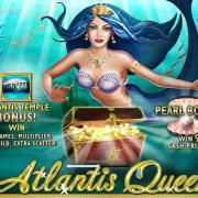 "Play ""Atlantis Queen"" Legendary Newtown Casino Slot Machine!"