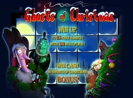 Ghosts Of Christmas™ Slot Machine Game to Play Free in Playtechs Online Casinos