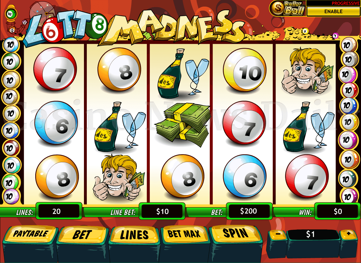 Play Lotto Madness Slots at Casino.com New Zealand
