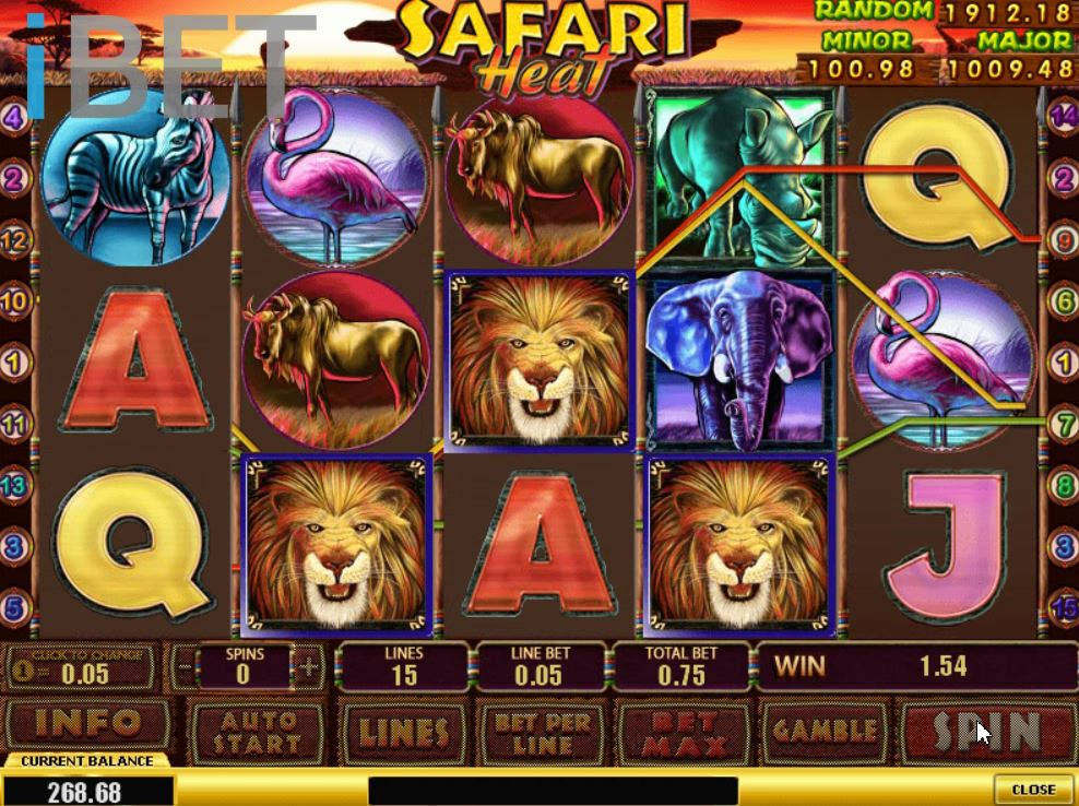 Serengeti Heat Slot Machine - Play Free Casino Slot Games