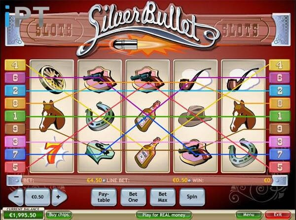 Silver Bullet Slot Machine - Free to Play Online Casino Game