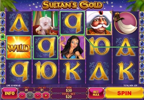 NTC33 Sultan's Gold Slot Game Treasure | Newtown Casino NTC33