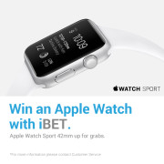 win an apple watch with ibet newtown casino promotion