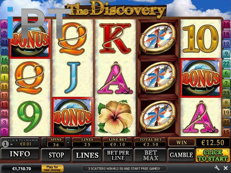 Play The Discovery Online Slots at Casino.com UK