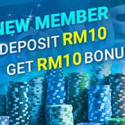 NTC33 Newtown Casino Lowest Deposit 10 Free 10 Welcome Bonus